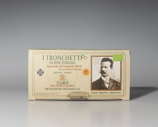 Nature Med - Tronchetti di don Tomaso Naturali di Liquirizia Bio 60 - TuttoCalabrese - Made in Calabria