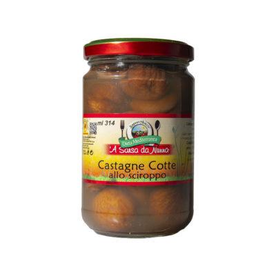 Sapori Antichi - Castagne Cotto allo Sciroppo - TuttoCalabrese - Made in Calabria