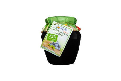 Solefrutta - Confettura Extra di Mirtilli - TuttoCalabrese - Made in Calabria